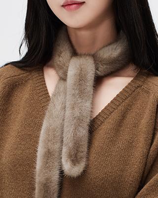 佩蒂特皮草大衣围巾