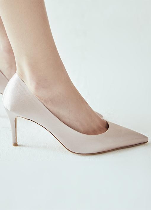 LP / 17263绸缎高跟鞋