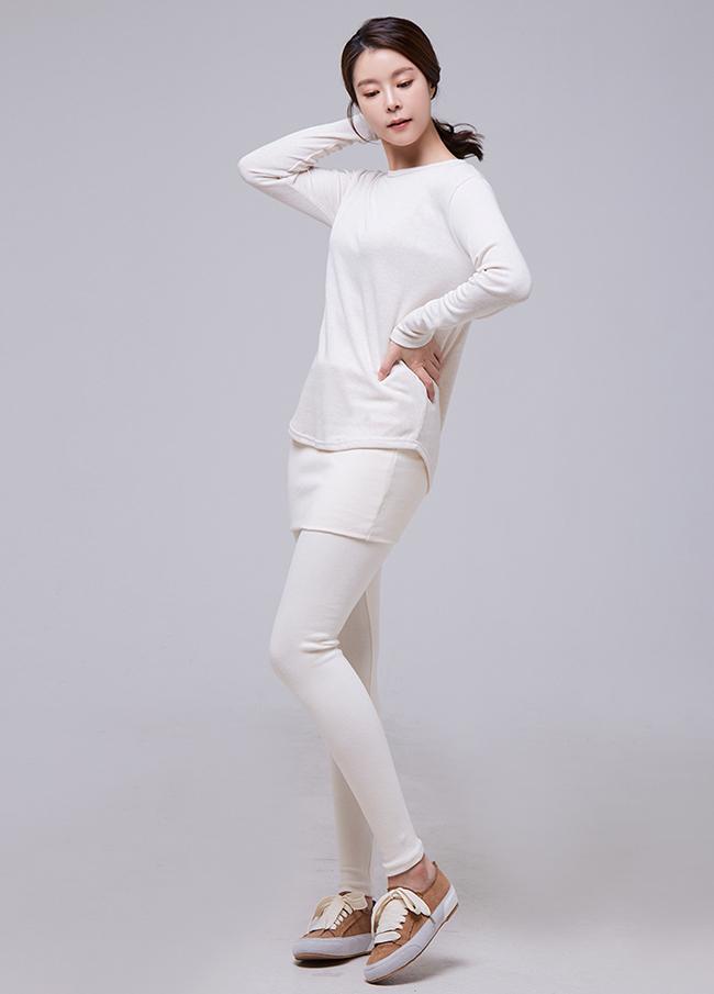 (2FPT146)外鬃裙子子打底裤