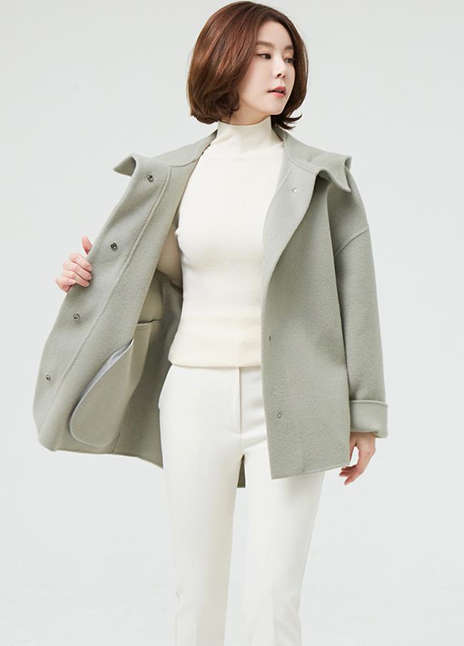 (2FJK046)手工羊毛外套