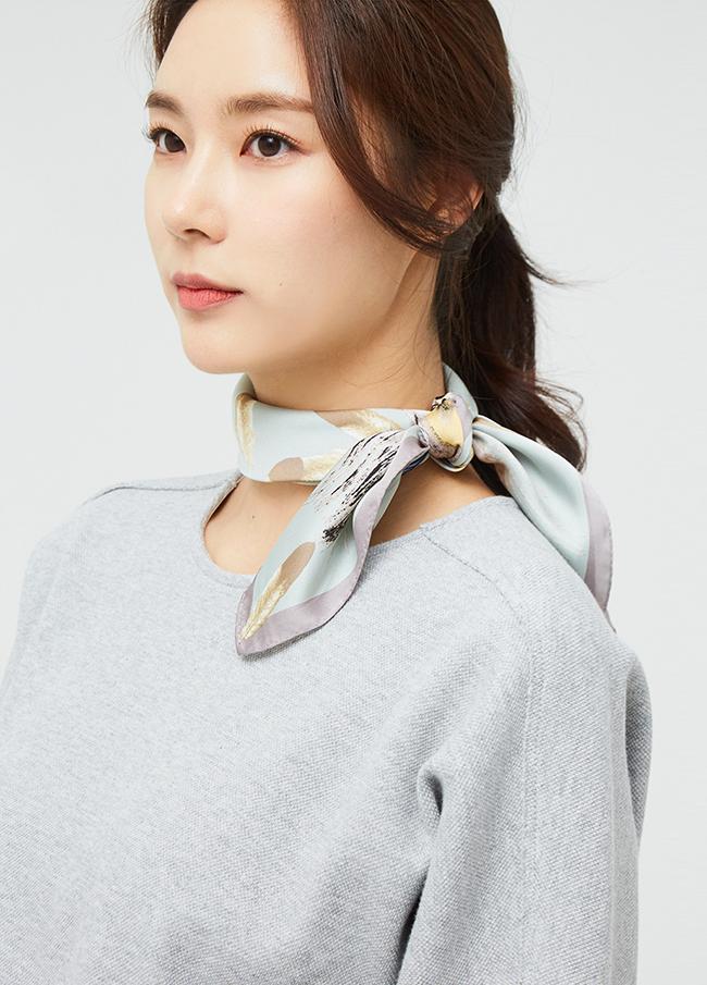 (3SSF002)打印羽毛围巾
