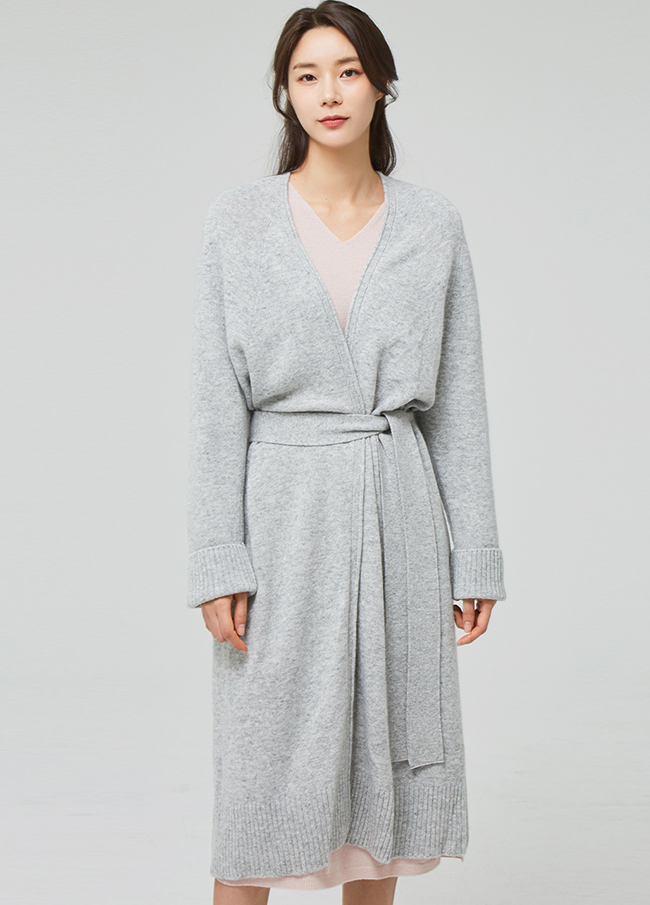 (3SCD007)Wholegangs Wool Sheep Robe开衫