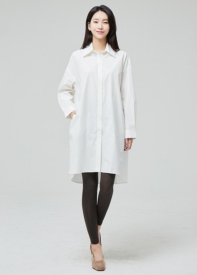 (3SBL005)宽松款Unsold Cotton衬衫衬衫