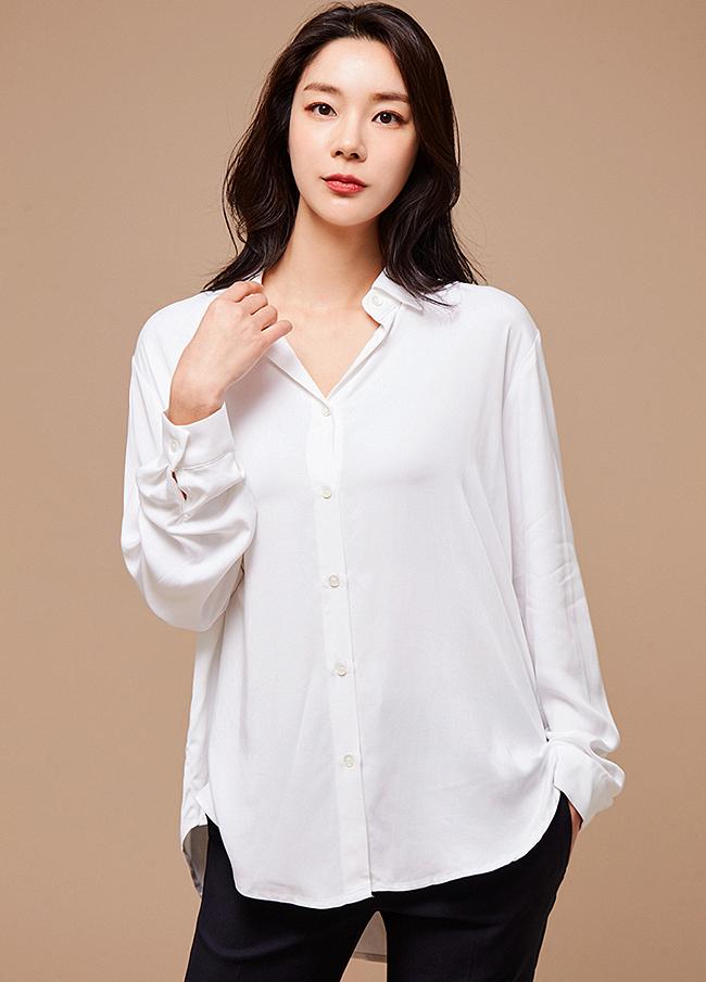 (3SBL056)TENCEL Basic衬衫