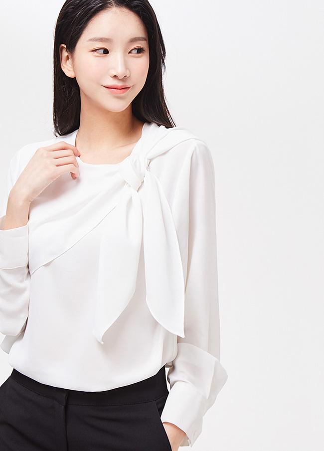 (3SBL060)双扭女衬衫