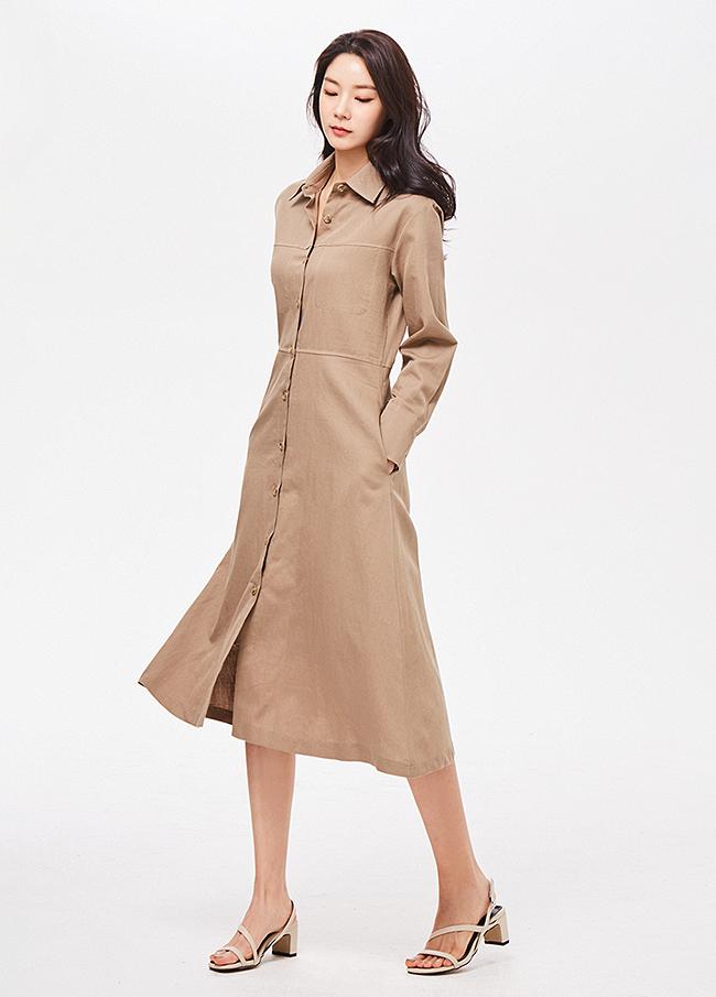 (3SOP079)Cotton Line衬衫衬衫衣衣裙