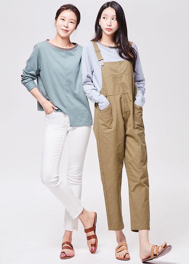 (3FTT003)Unfooted Modal T恤衫