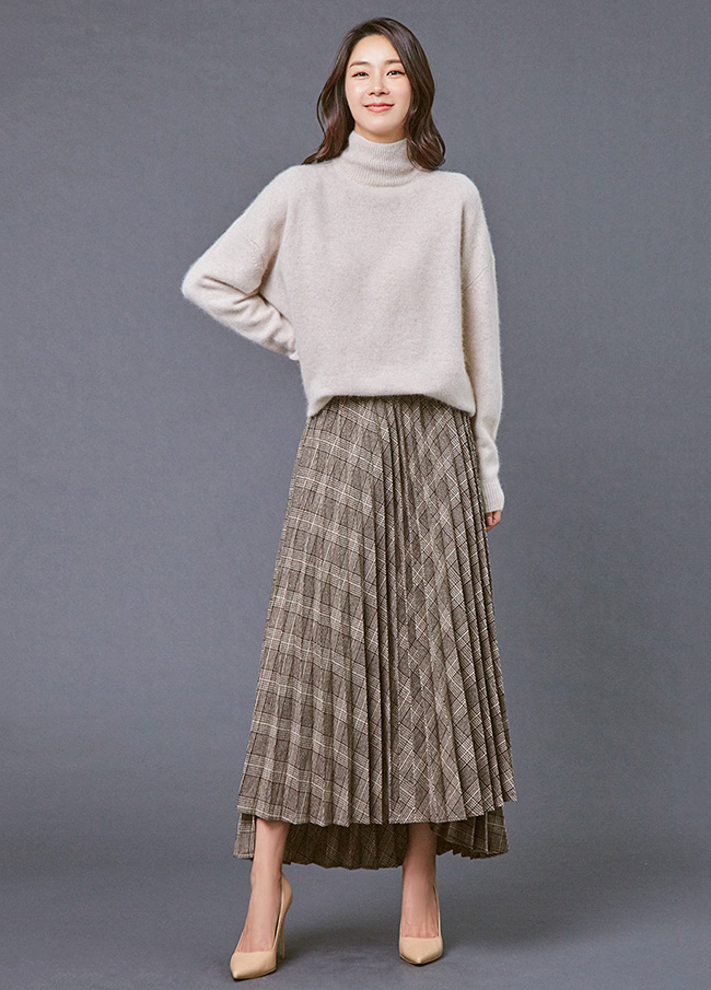 (3FNT045)貉子Pola简单针织衫