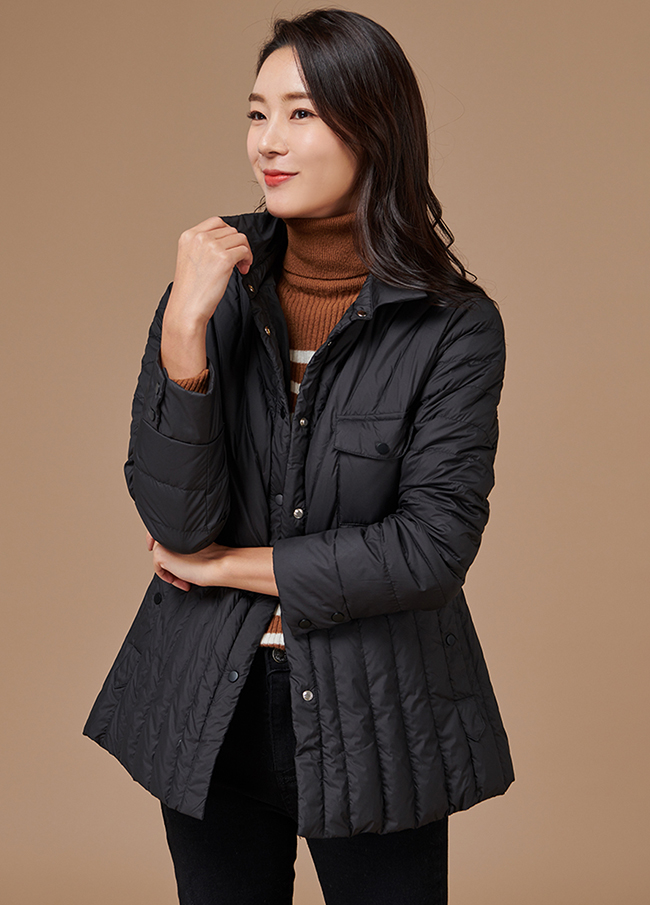 (3FJP012)束腰羽绒服夹克