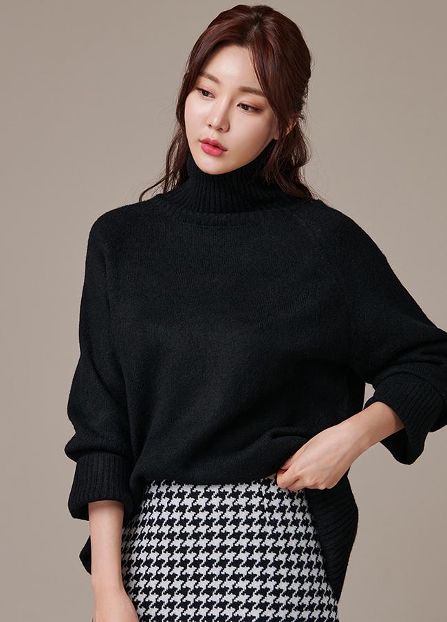 (3FNT144)羊毛unhair高龄针织衫